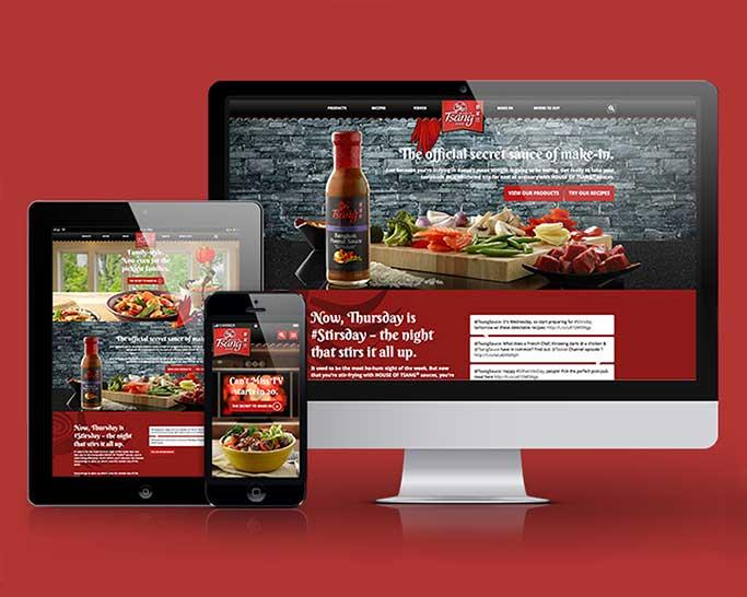 house of tsang website redesign